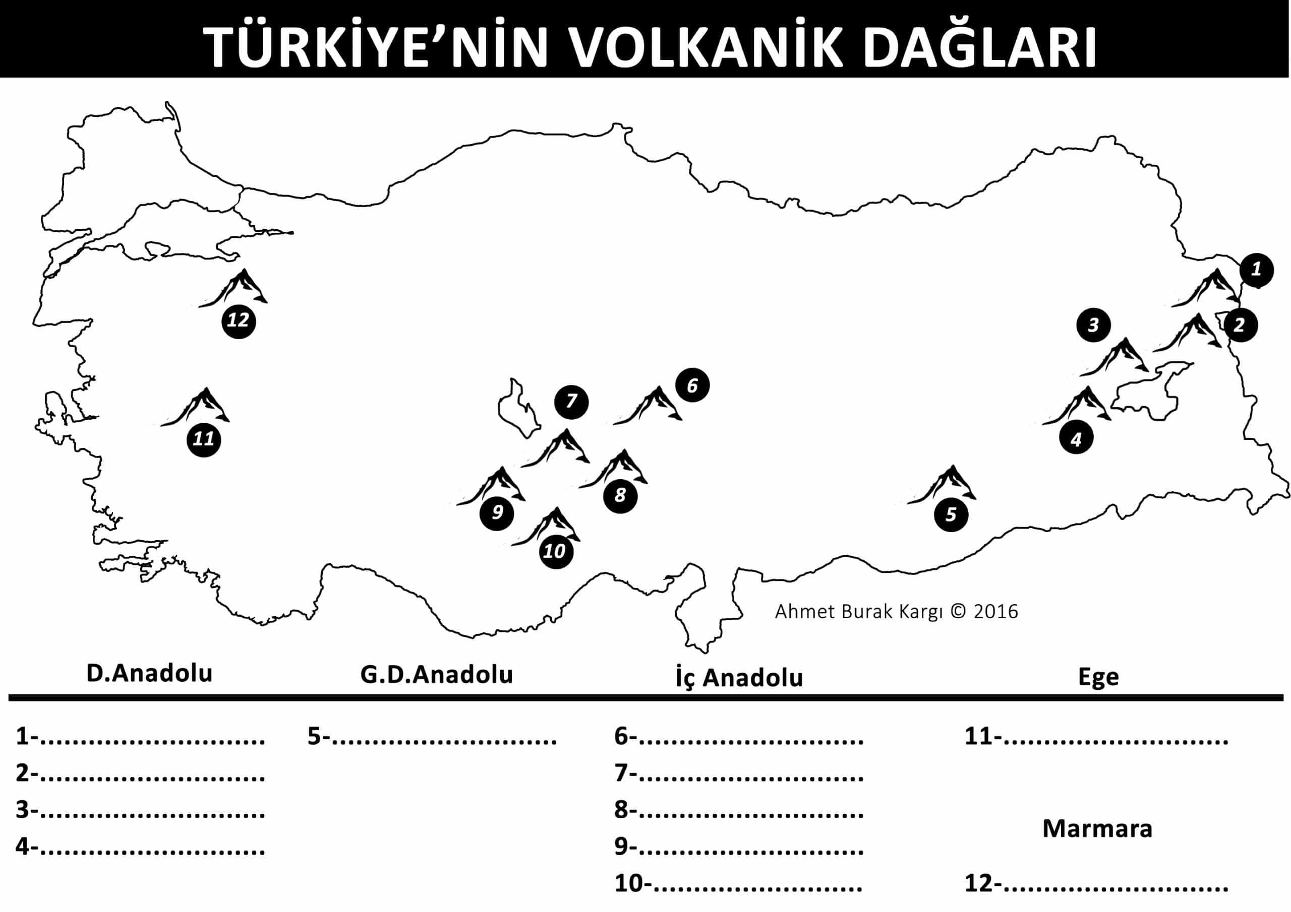 volkanik-daglar