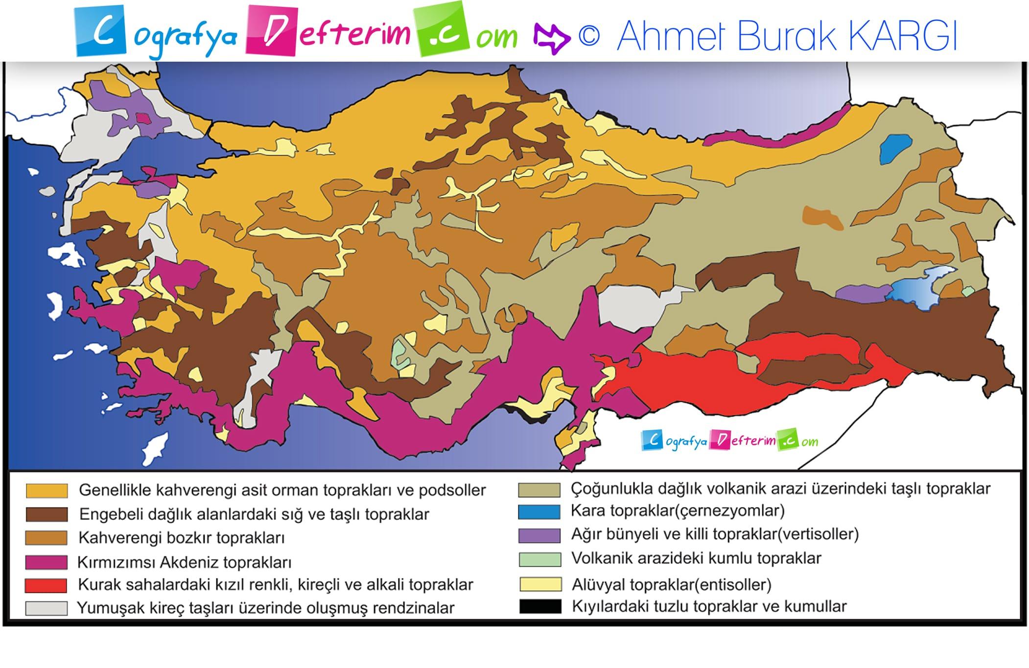 Turkiye Toprak Haritasi