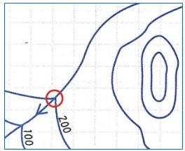 izohipslerde-vadilerin-gosterilmesi