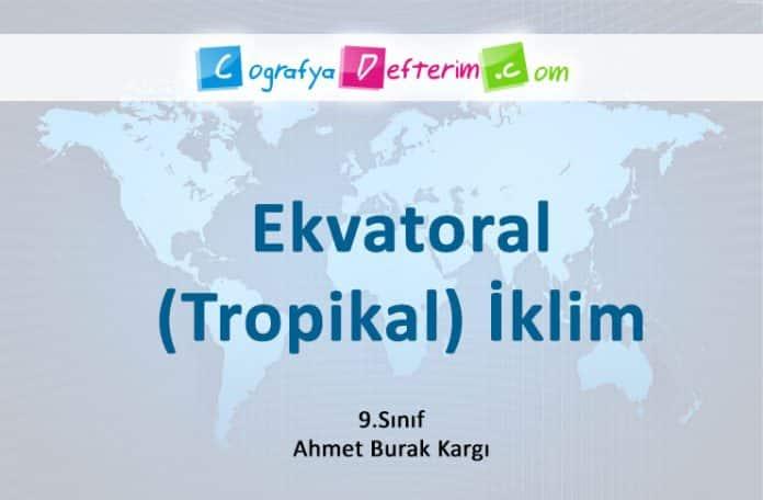 ekvatoral iklim